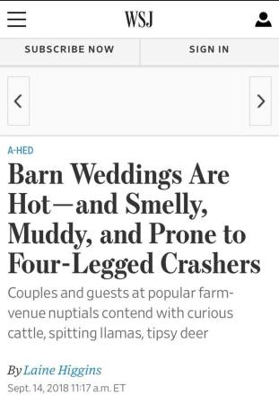 wsj headline